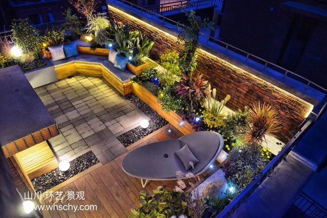 纯私家屋顶花园